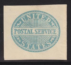 UO16 VF mint cut square nice color cv $ 210 ! see pic !
