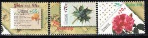 Netherlands Scott # B635 - B637, mint nh