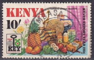 Kenya #309 F-VF Used  CV $5.50  Z495