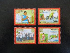 Tuvalu #948-51 Mint Never Hinged (M7M4) - Stamp Lives Matter!