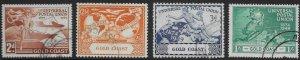 GOLD COAST SG149/52 1949 U.P.U. SET USED