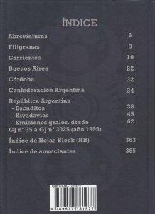 Catalogo Especializado de Sellos Historia Postal de la Republica Argentina New