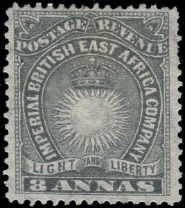 British East Africa Scott 14-30 Gibbons 4-30 Mint Set of Stamps
