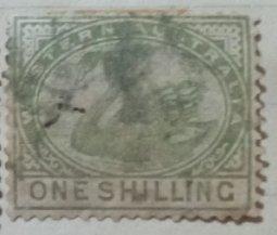 Western Australia :  1861 : 1 Shilling