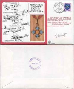 DM7a Most Excellent Order of the British Empire Signed by R.J. Abbott (B)