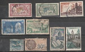 France Used lot General & BOB issues lot 9
