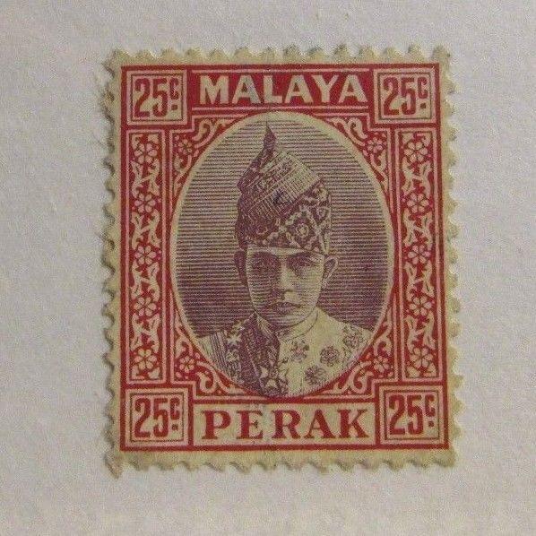 MALAYA  PERAK Sc 921 Θ used, mute cancel ,postage stamp, Fine +