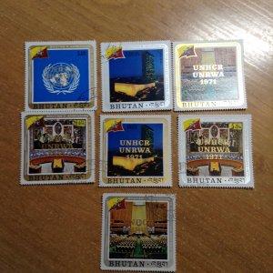 Bhutan  # 130-33/C21-23  Used