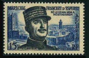 Algeria 272,MNH.Michel 354. Marshal Franchet D'Esperey,1956.