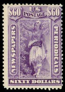 momen: US Stamps #PR78 Newspaper Mint OG H LOT #70461