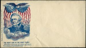 #WS69 THE RIGHT MAN IN THE RIGHT PLACE! CIVIL WAR PATRIOTIC COVER BP9793