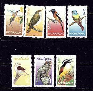 Nicaragua 1500-06 MNH 1986 Birds