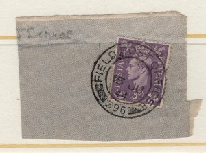 Great Britain Field Post Office 396 posted 15 July 1944 on piece