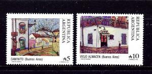 Argentina 1617-18 MNH 1988 partial set
