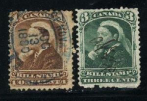 C 1,3 cent Bill Stamp  U 1880 PD