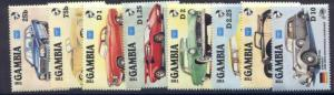 Gambia 620-7 MNH Cars, Karl Benz Automobile Centenary