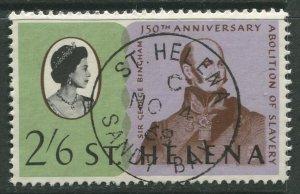 STAMP STATION PERTH St Helena #208 Abolition of Slavery 1968 VFU