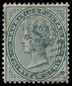Mauritius Scott 62 Gibbons 95 Used Stamp
