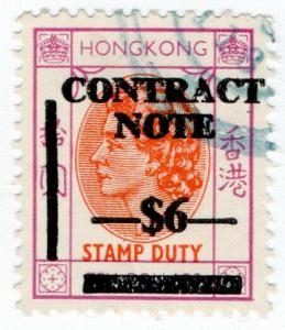 (I.B) Hong Kong Revenue : Contract Note $6 on $10 OP