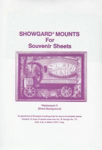 SHOWGARD BLACK MOUNTS MASTERPACK II (15) RETAIL PRICE $32.75
