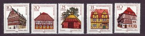 J22679 Jlstamps 1978 germany ddr mnh set #1882-6 buildings