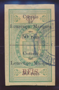 Lourenco Marques Stamp Scott #55, Used, Large Margins - Free U.S. Shipping, F...