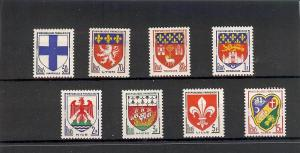 France, 896-903, Coat of Arms Singles,**MNH**