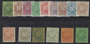 French Guinea 1904 SC 18-32 Mint Set