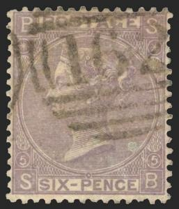 Great Britain Scott 45 Gibbons 97 Used Stamp