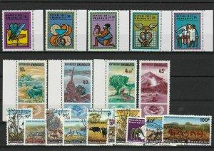 Republic Rwandaise Mint Never Hinged & Used Mixed Subject Stamps ref R 18555
