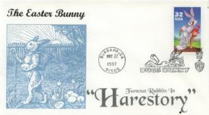 1997 Bugs Bunny  (Scott 3137a) Nostalgia #1 FDC