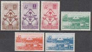Haiti #417-20, C113-4  MNH F-VF CV $5.05 (SU2936L)
