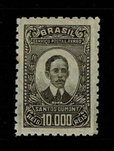 Brazil SC# C24a Mint Light Hinged / Sm Left Toned Perf - S8229