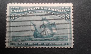US #232 used ~1812.2273