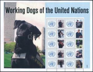 UN New York stamp Greetings stamps complete sheet MNH 2011 Mi 1253 WS243888