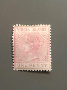 British Virgin Is. 14 F-VF MHR. Scott $ 50.00