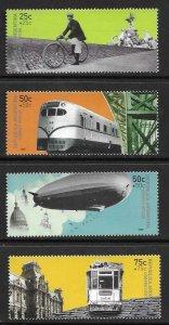 2000   ARGENTINA  -  SG.  2787 / 2790  -  TRANSPORT  -  MNH