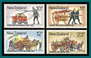 New Zealand 1977 Fire Fighting Equipment, MNH #635-638;SG1156-SG1159