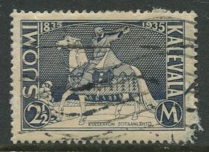 Finland - Scott 209 - Kullervo -1935- Used - Single 2.5m Stamp