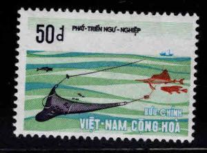 South Vietnam Scott 410 MNH** Fishing stamp