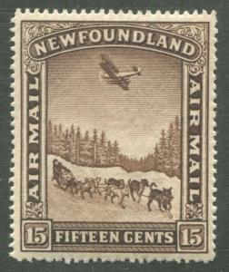 NEWFOUNDLAND C9 MINT VF NH