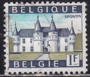 Belgium 644 Spontin Castle 1967