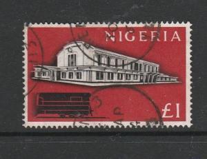 Nigeria 1961 Defs £1 FU SG 101