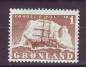 J16585 JLstamps 1950-60 greenland mnh #36 ship