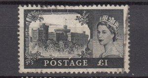 J26579  jlstamps 1959-68 great britain hv of set used #374 castles wmk 322