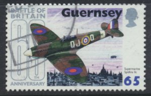 GB Guernsey Channel Islands  SG 862 Used Battle of Britain 2000 SC# 718 See scan