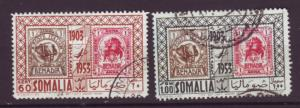 J20008 Jlstamps 1953 somalia set used #c32-3 stamps