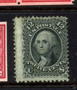 Scott #69 Washington Unused stamp  w/ Weiss Cert (Stock #69-7)