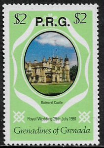 Grenada, Grenadines #O17 MNH Stamp - Royal Wedding Official