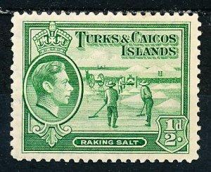 Turks & Caicos Islands #79 Single MH